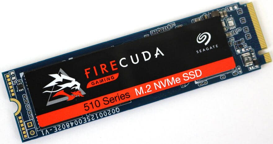 Seagate FireCuda 510 SSD 1TB Photo view top angle 1