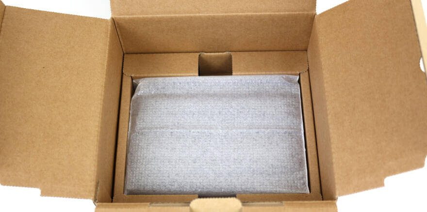 Synology DS419slim Photo view box open