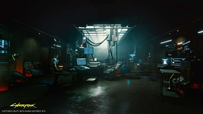 cyberpunk 2077 nvidia geforce e3 2019 rtx on exclusive 4k in game screenshot 001
