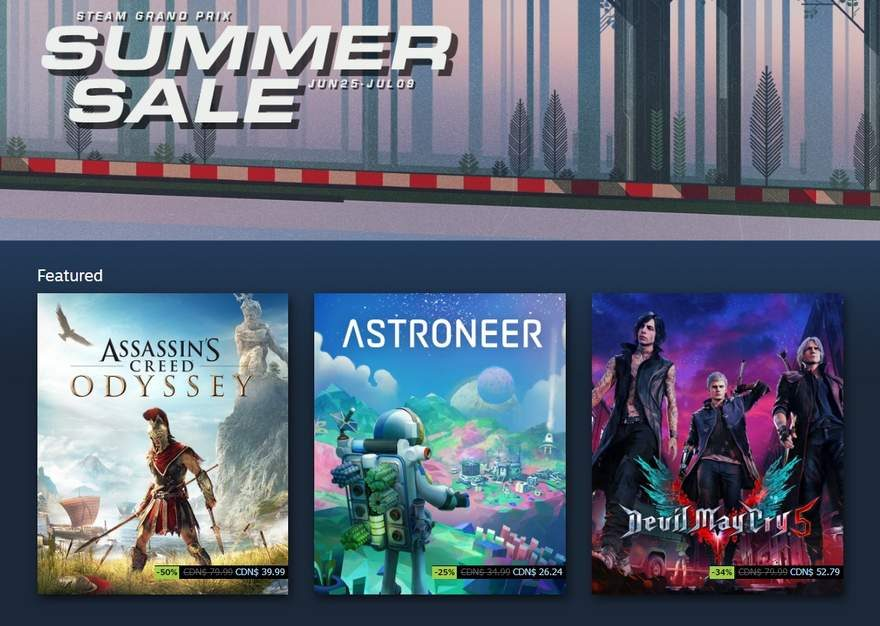 The Best Deals from the Valve's 2019 Steam Summer Sale