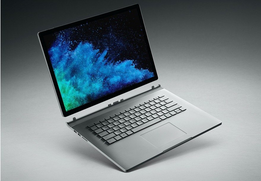surface book 2 mds
