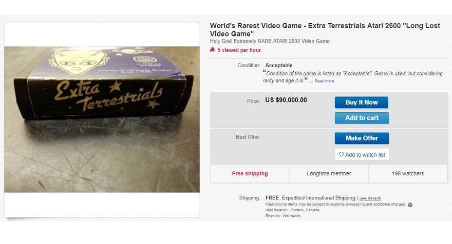 ebay extra terrestrials