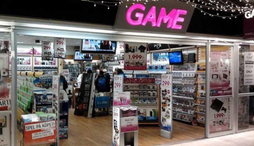 GAME UK RETAILER