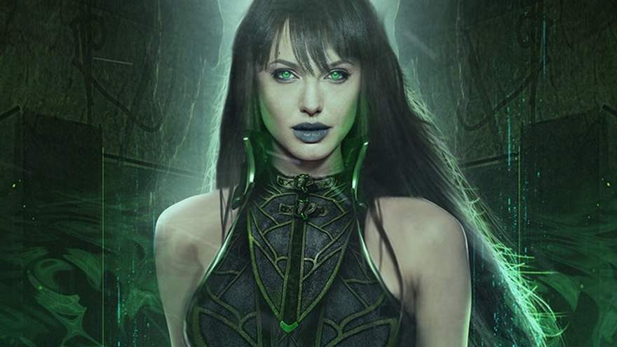 Angelina Jolie as Circe in The Eternals
