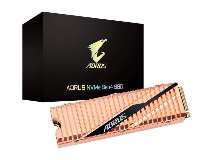 Gigabyte's Aorus NVMe PCIe 4.0 SSDs Now Available for Pre-Order