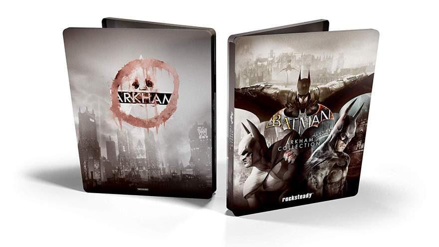 Batman Arkham Collection Steelbook Gets UK Release