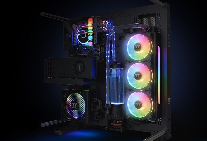Thermaltake Pacific CL360 Max D5 Hard Tube Kit Now Available
