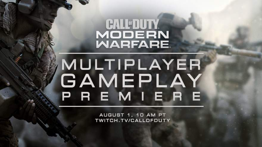CoD: MW Multiplayer Gameplay Reveal August 1st