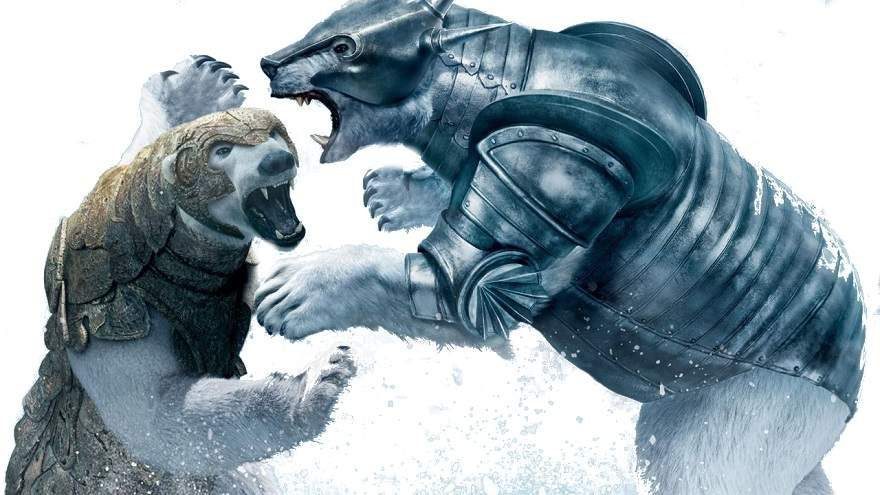 His Dark Materials Bear Battle