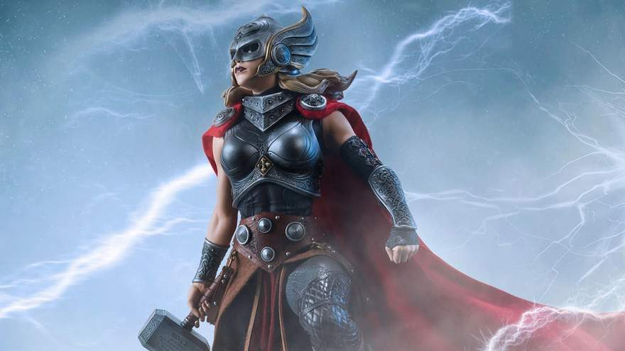 Jane Foster as Thor