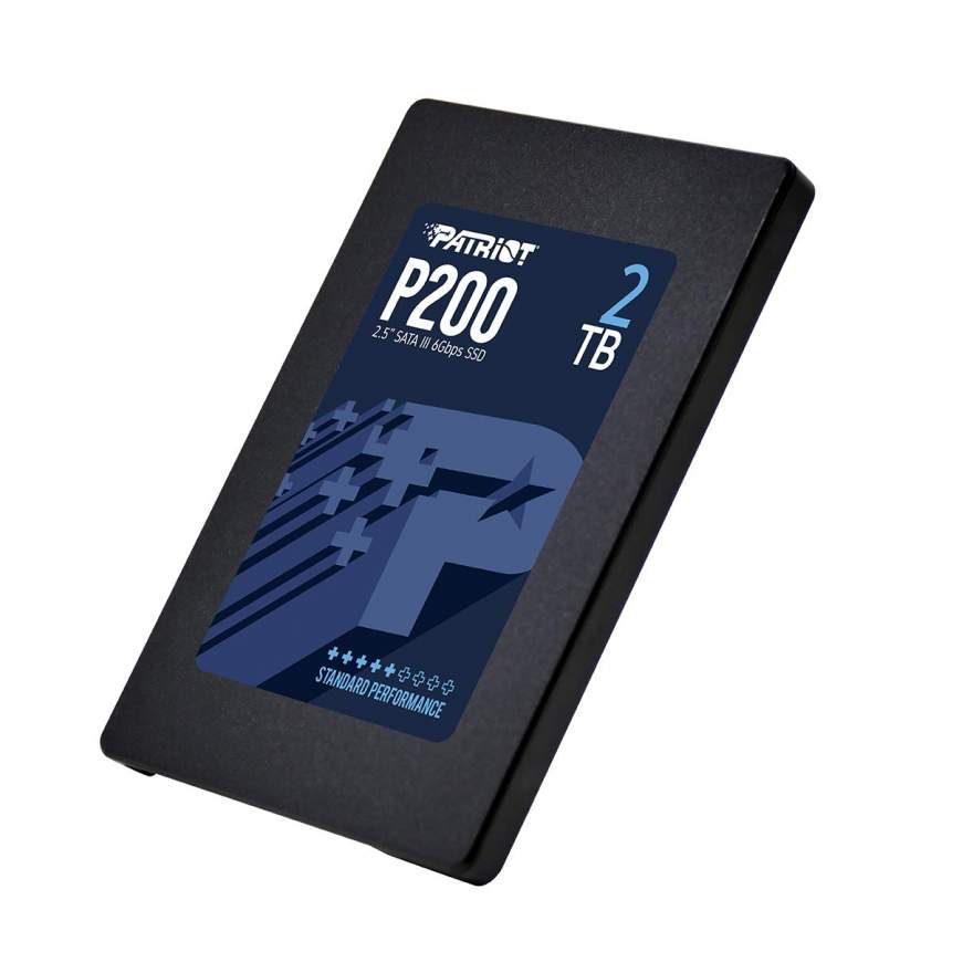 Patriot P200 Series SSD Offer Cost Effective Option Up to 2TB