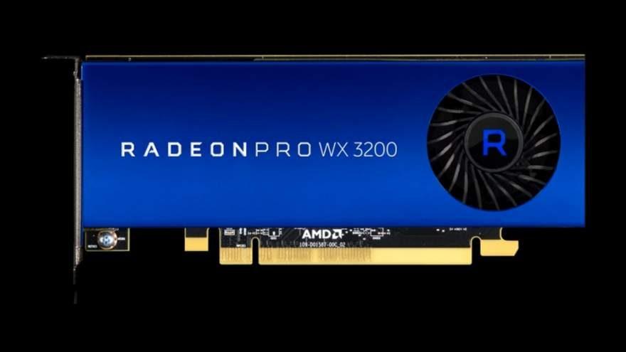 AMD Announces the Radeon Pro WX 3200 Low-Profile Card