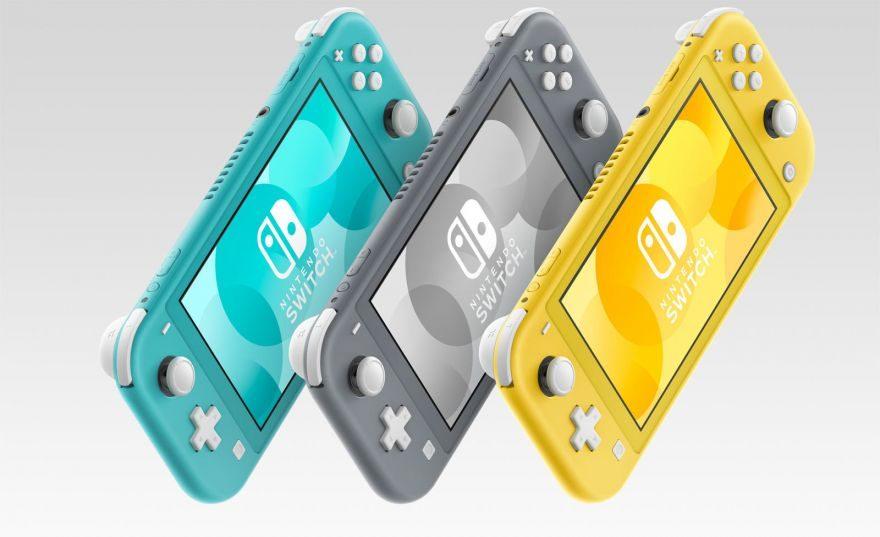 Smaller, Cheaper Nintendo Switch Lite Arrives on September 20