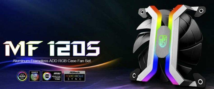 Deepcool GamerStorm MF120S RGB Fan Kit Review