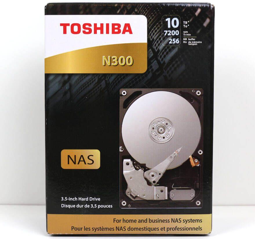 Toshiba N300 10TB NAS Photo box front
