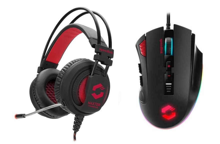 Speedlink Maxter Headset & Tarios Gaming Mouse Review