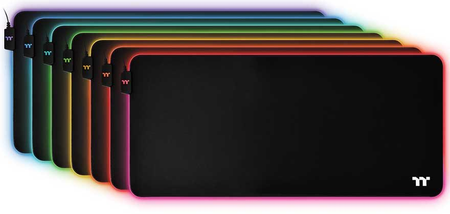 Thermaltake Release the Level 20 RGB Mouse Pads