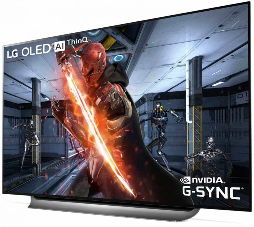 LG Reveal First OLED TVs With Nvidia G-Sync
