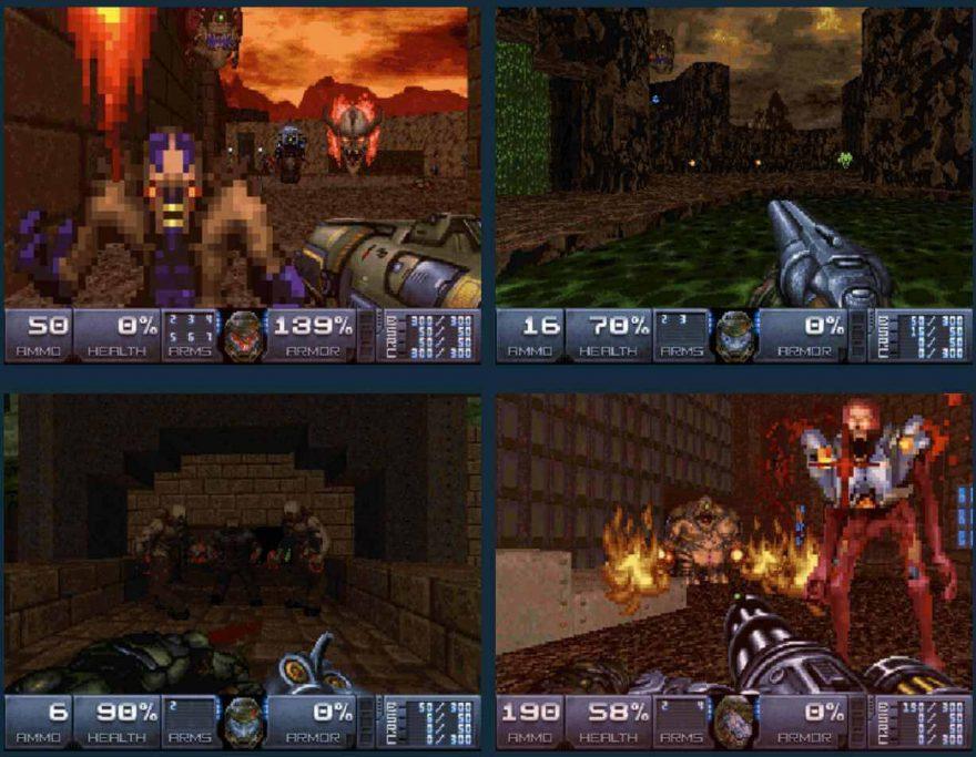 Doom 4 Vanilla Demake Mod is Old-School Cool