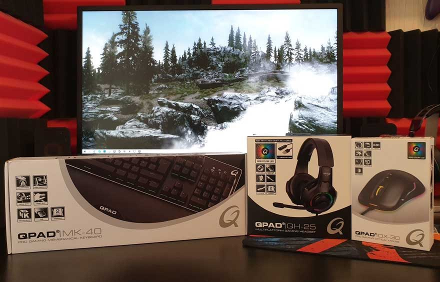 QPAD MK40, QH-25 & DX-30 Review - Gaming for Under £120