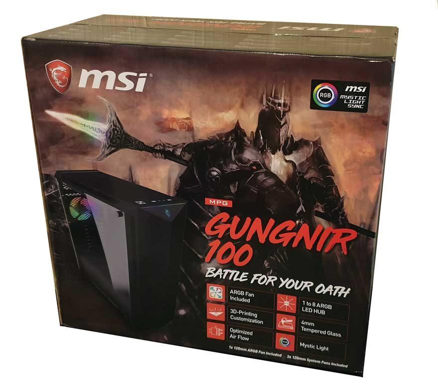 MSI GUNGNIR 100 Mid-Tower PC Case Review