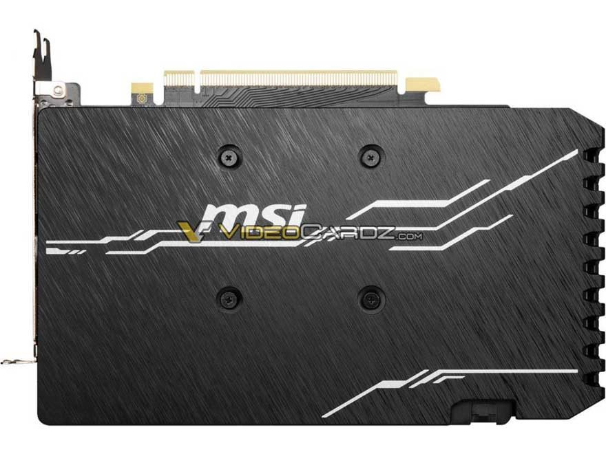 MSI's New GTX 1660 Super Gaming X and Ventus XS Pictured