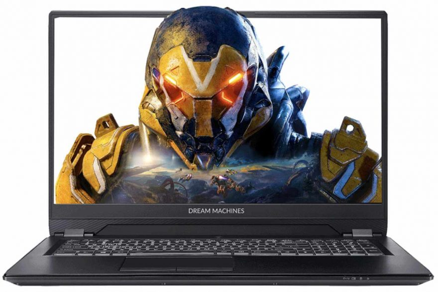 Fierce PC Dream Machines P960RN Gaming Laptop Review