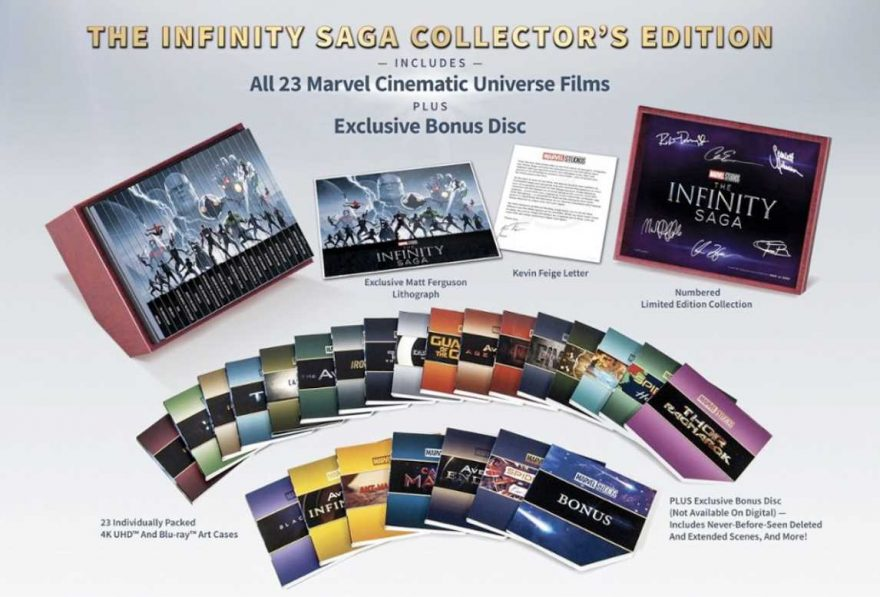 Marvel Infinity Saga Collectors Edition Box Set isn't Cheap