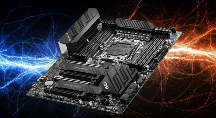 MSI Reveal New X299 Motherboards for Intel 10th Gen