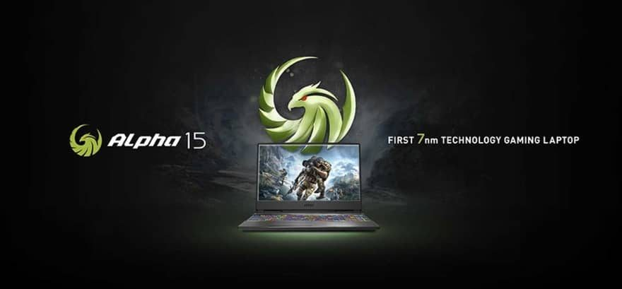 MSI Alpha Series - The First 7nm Gaming Laptop