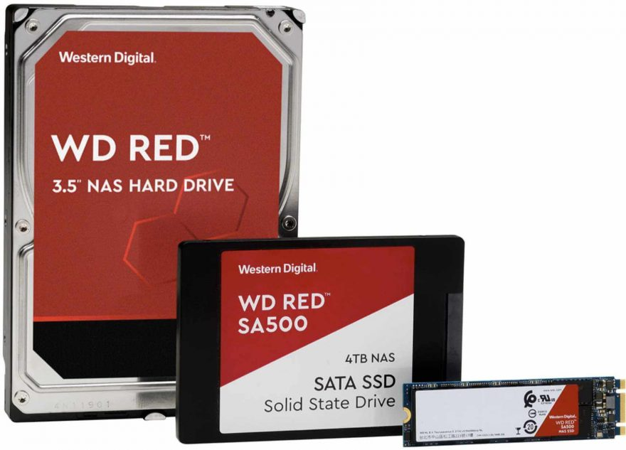 Western Digital Reveal Latest WD Red SSDs and HDDs