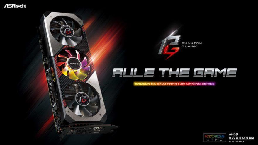 ASRock Announces Radeon RX 5700 Phantom Gaming Series 4