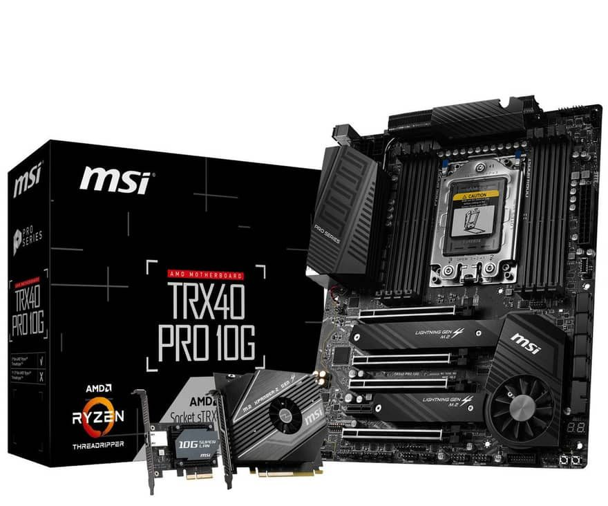 MSI Announces Creator TRX40 and TRX40 PRO Series Motherboards 2