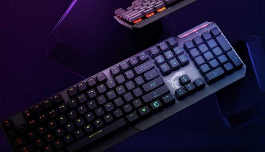 MSI Vigor GK50 Low Profile Gaming Keyboard Review