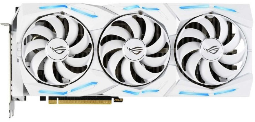 ASUS ROG STRIX RTX 2080 Ti White is GORGEOUS