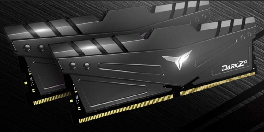 TeamGroup T Force Dark Z Alpha DDR4