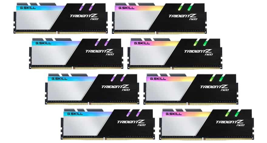 G.SKILL Reveals 256GB Trident Z Neo Memory Kits 2