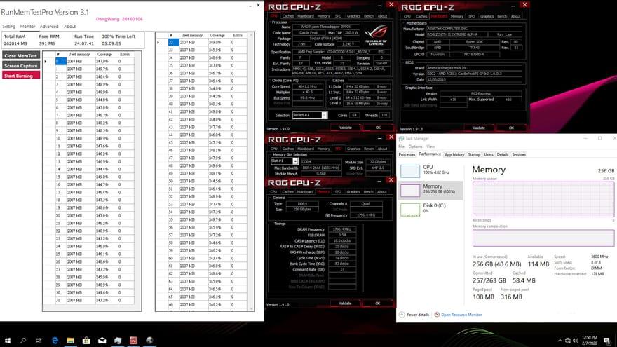 G.SKILL Reveals 256GB Trident Z Neo Memory Kits