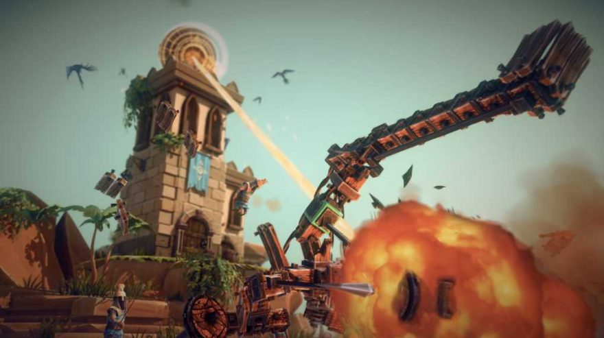 Besiege Leaves Early Access After Five Years!
