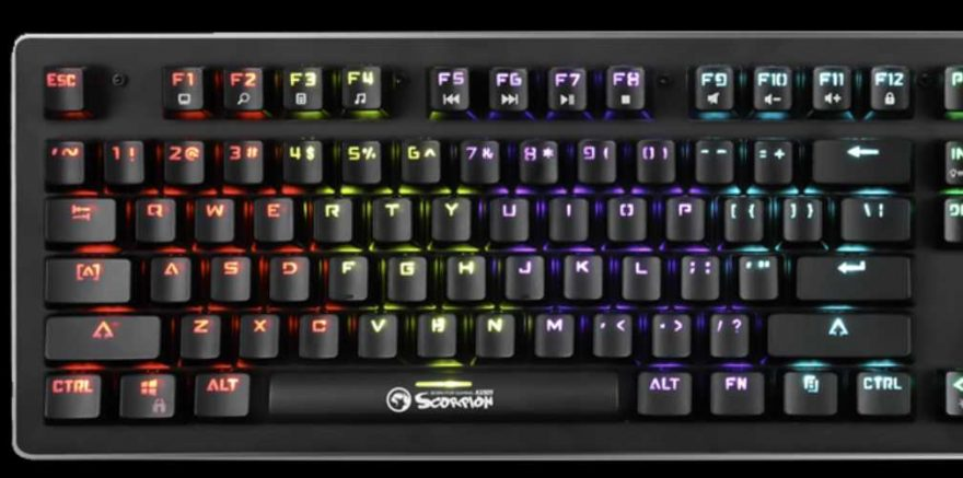 Marvo Scorpion GK909 Mechanical Gaming Keyboard Review