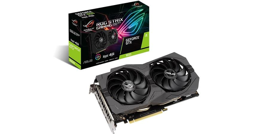 asus 1650 graphics card GDDR6