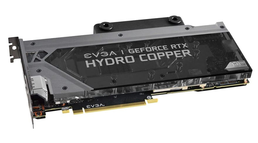 evga RTX 2080 Ti XC Hydro Copper Gaming Graphics Card