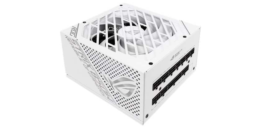 asus rog strix 850w white