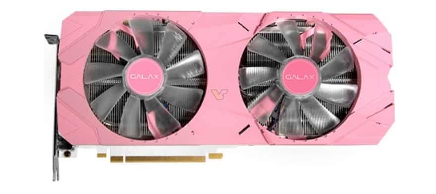 Galax Nvidia 2070 SUPER EX Pink Edition