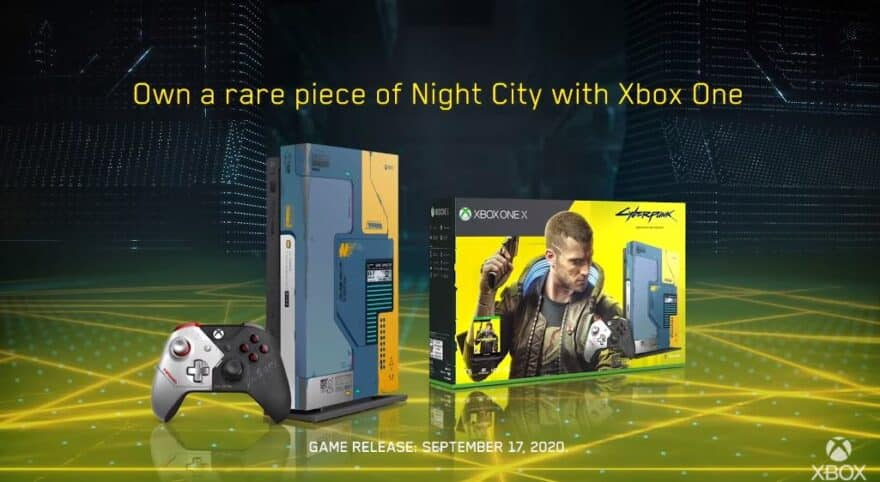 cyberpunk 2077 xbox one x microsoft