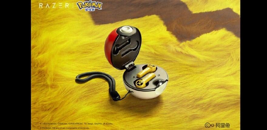 pokemon razer wireless earphones