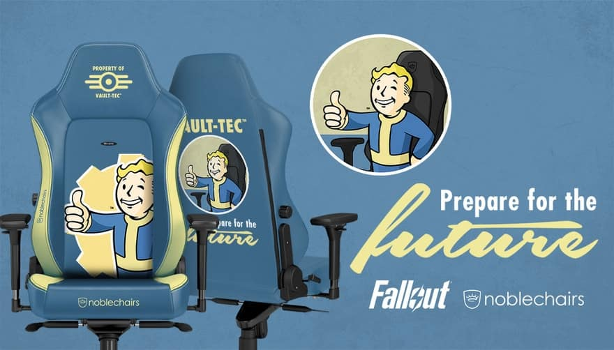 noblechairs Creating Bethesda Licenced Gaming Chairs!