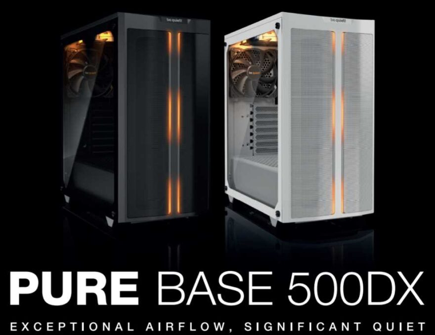 be quiet! Introduces Pure Base 500DX PC Case