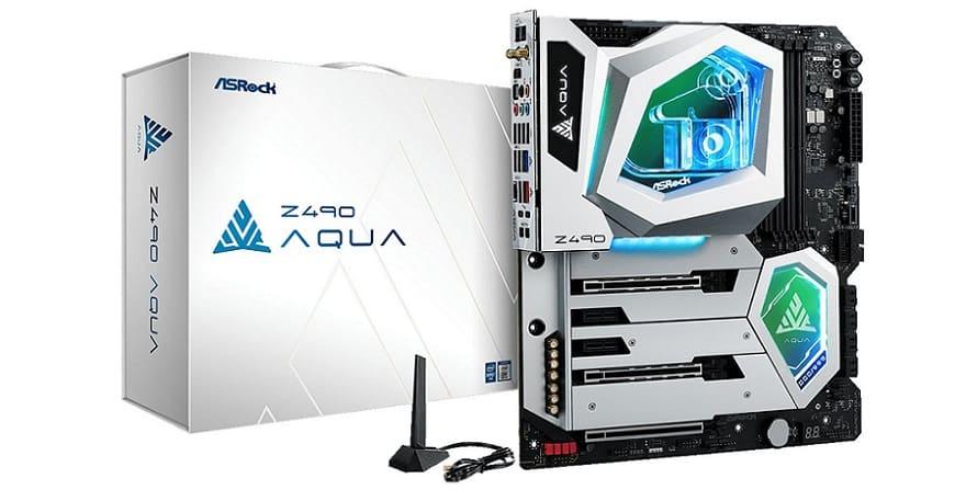 ASRock Z490 AQUA Motherboard