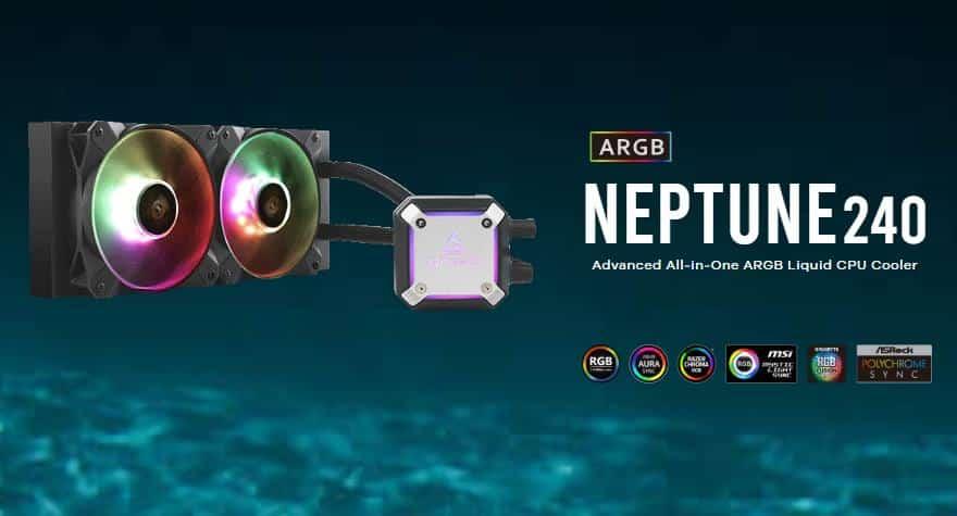 Antec Neptune 240 AIO Liquid Cooler Review
